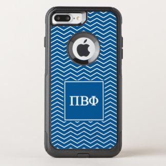 Pi Beta Phi | Chevron Pattern OtterBox Commuter iPhone 8 Plus/7 Plus Case