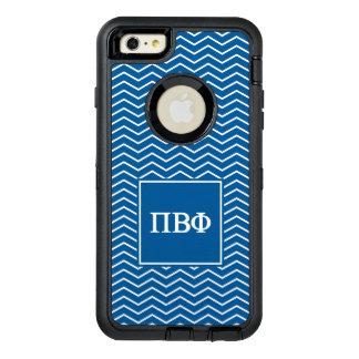 Pi Beta Phi | Chevron Pattern OtterBox Defender iPhone Case