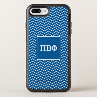 Pi Beta Phi | Chevron Pattern OtterBox Symmetry iPhone 7 Plus Case