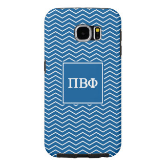Pi Beta Phi | Chevron Pattern Samsung Galaxy S6 Cases