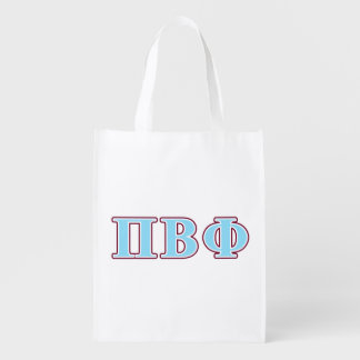 Pi Beta Phi Maroon and Blue Letters