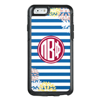 Pi Beta Phi | Monogram Stripe Pattern OtterBox iPhone 6/6s Case