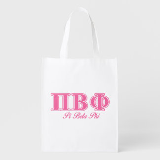 Pi Beta Phi Pink Letters