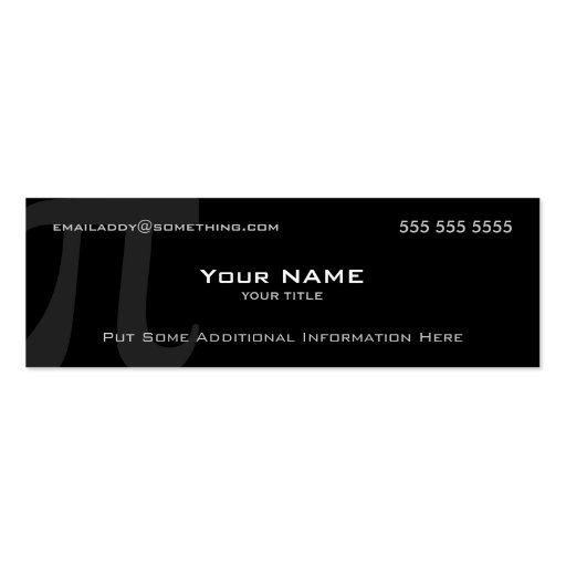 Pi Business Card Templates