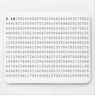 Pi Celebrate 3.14 Pi Day Mouse Pad
