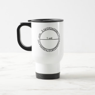 Pi Circle Travel Mug