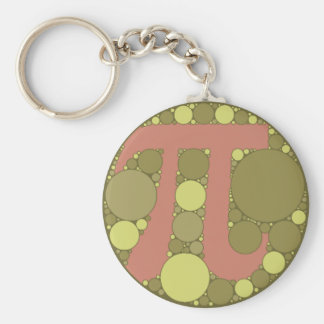 Pi Colorblind Colors Basic Round Button Key Ring