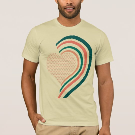 Pi Complex Heart - Customised T-Shirt