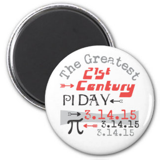 Pi Day 2015 - 21st Century Greatest Magnets