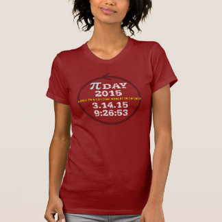 Pi Day 2015: A once-in-a-lifetime moment T-Shirt