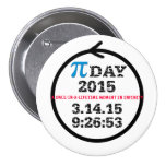 Pi Day 2015—celebration button
