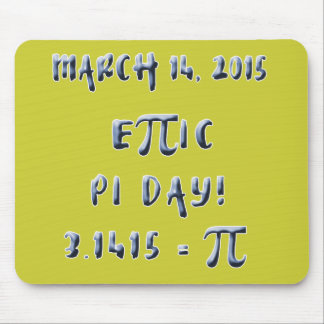 Pi Day 2015 is Epic Mouse Pads
