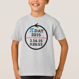 Pi Day 2015 (kids tshirt M)