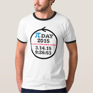 Pi Day 2015 (light T shirt) T-Shirt