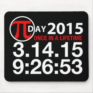 Pi Day 2015 Mouse Mat