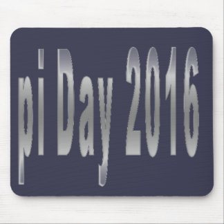 pi Day 2016 math love Mouse Pad