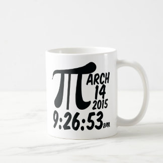 Pi Day 3/14/15 Coffee Mug