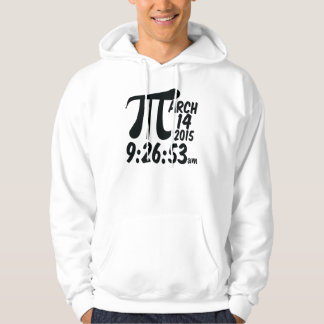 Pi Day 3/14/15 Hoodie