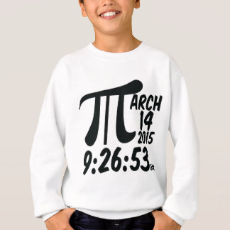 Pi Day 3/14/15 Sweatshirt