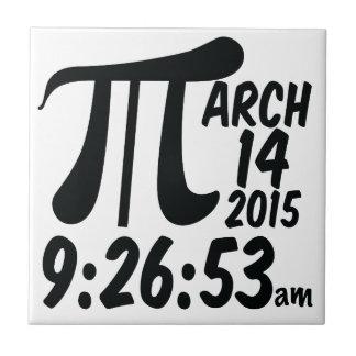 Pi Day 3/14/15 Tile