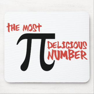 Pi Day 3.14 - The Most Delicious Number Mouse Mat