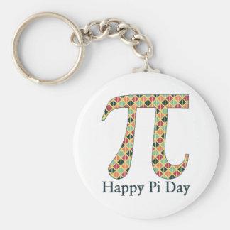 Pi Day Geometric 2 Keychain