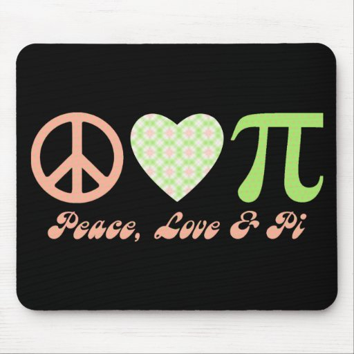 Pi Day Gifts and Tees Mouse Mat