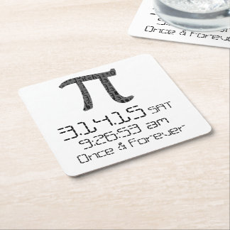 Pi Day March 2015 Custom design Coaster