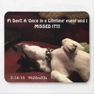Pi Day memorabilia Mouse Pad