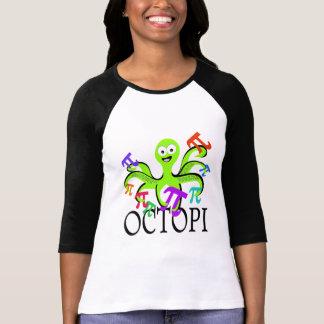 Pi Day Octopi Tee Shirts