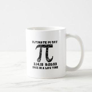 Pi day of a lifetime coffee mug