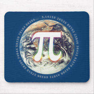 Pi Day on Earth | Celebrate Math Mouse Pad