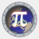 Pi Day on Earth - math sticker
