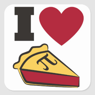 Pi Day Party Stickers
