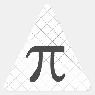 Pi Day - Pi Symbol Triangle Sticker