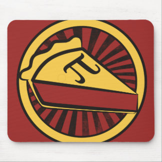 Pi Day Pie Mouse Mat