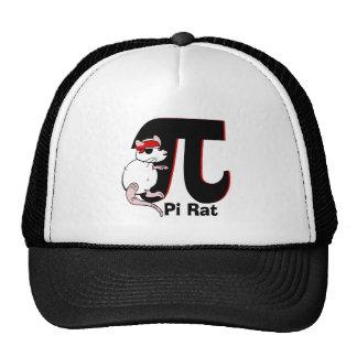 Pi Day Pirate Rat Cap