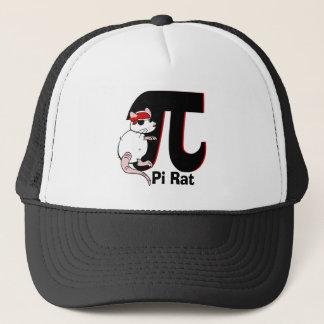 Pi Day Pirate Rat Trucker Hat