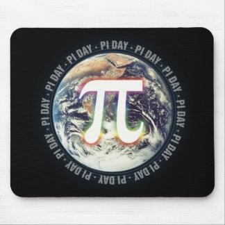 Pi Day pn Earth - math mousepad