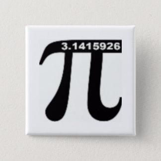 Pi Day SALE ~ March 14th Madness 15 Cm Square Badge
