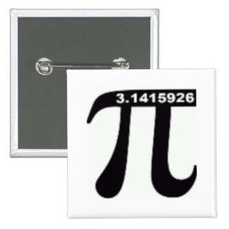 Pi Day SALE ~ March 14th Madness 15 Cm Square Badge