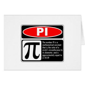 Pi Explanation Cards