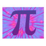 Pi in Purple Postcard
