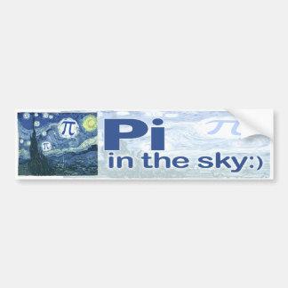 Pi in the Sky by Mudge Studios Bumper Stickers