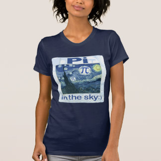 Pi in the Sky by Mudge Studios T Shirt