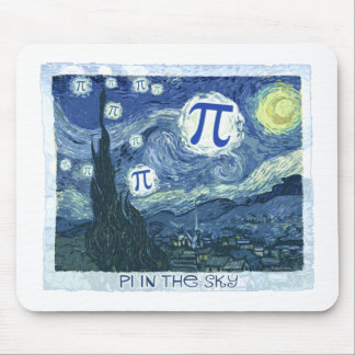 Pi in the Sky Mouse Mat
