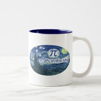 Pi In The Sky Two-Tone Mug