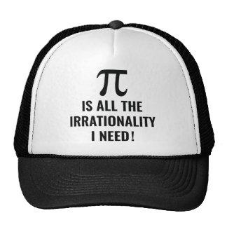 Pi Irrationality Cap