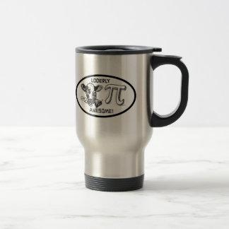 Pi is Udderly Awesome Stainless Steel Travel Mug