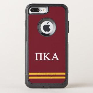 Pi Kappa Alpha | Sport Stripe OtterBox Commuter iPhone 8 Plus/7 Plus Case